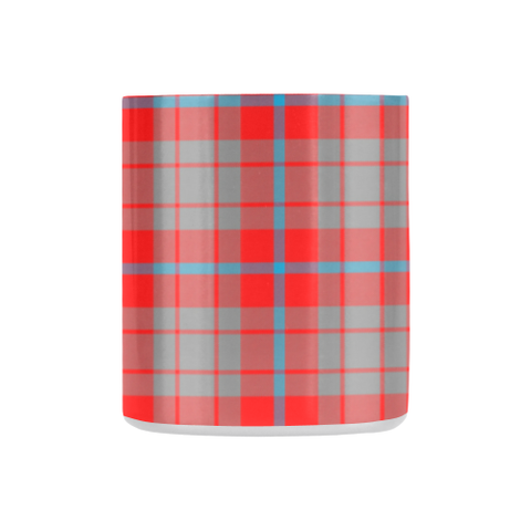 Moubray Tartan Mug Classic Insulated - Clan Badge K7