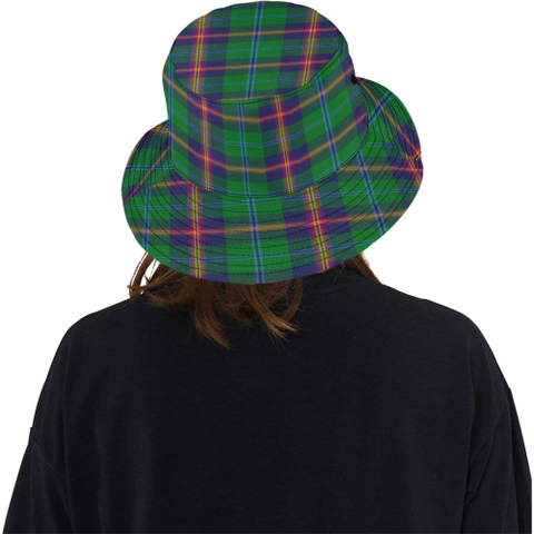 Young Modern Tartan Bucket Hat for Women and Men