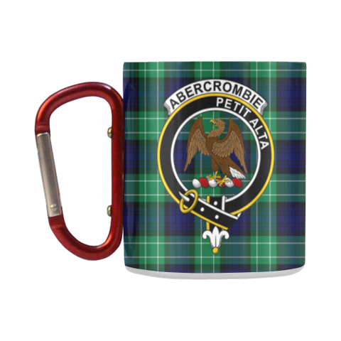Abercrombie Tartan Mug Classic Insulated - Clan Badge K7