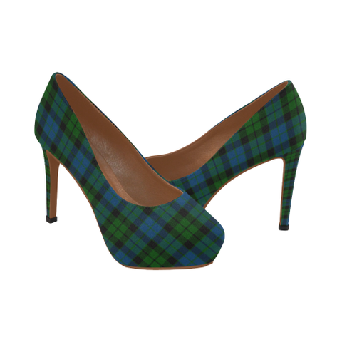 Image of Mackay Modern Plaid Heels