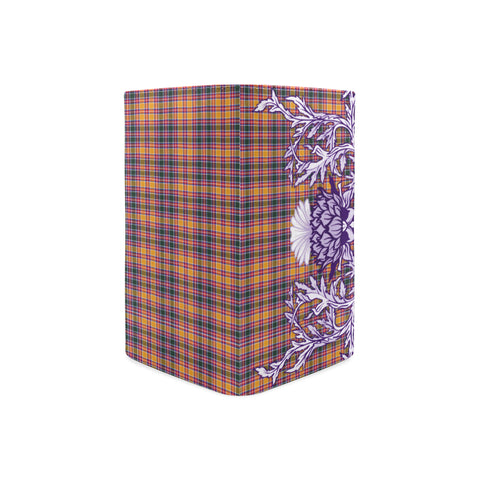 Jacobite Tartan Wallet Women's Leather Thistle A91
