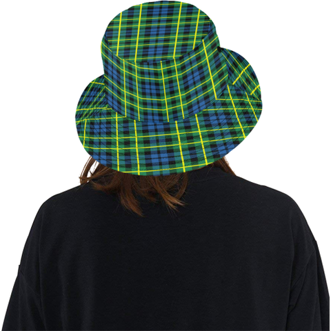 Campbell Of Breadalbane Ancient Tartan Bucket Hat for Women and Men K7