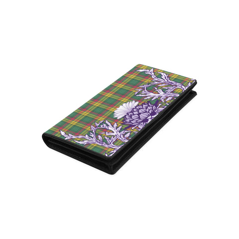 Image of MacMillan Old Ancient Tartan Wallet Women's Leather Wallet A91 | Over 500 Tartan