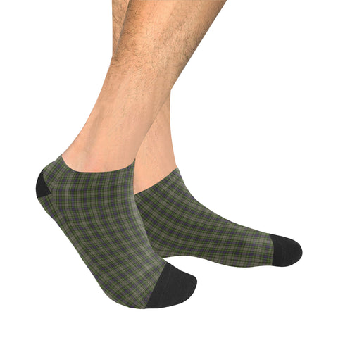 Davidson Tulloch Dress Tartan Ankle Socks | scottishclans.co