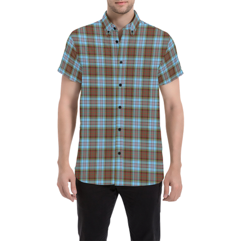 Tartan Shirt - Anderson Ancient | Exclusive Over 500 Tartans | Special Custom Design