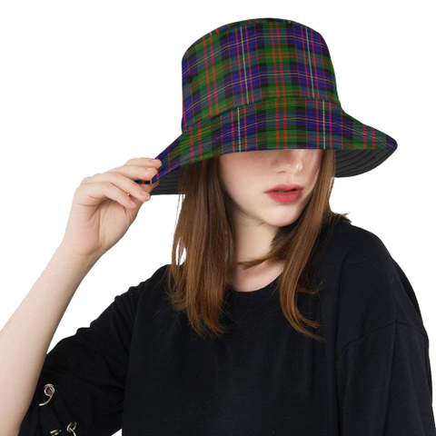 Cameron Of Erracht Modern Tartan Bucket Hat for Women and Men | Scottishclans.co