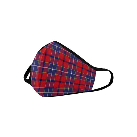 Wishart Dress Tartan Mouth Mask With Filter | scottishclans.co