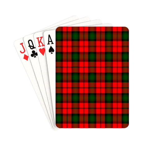 Image of Kerr Tartan Playing Cards | scottishclans.co