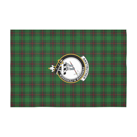 Anstruther Crest Tartan Tablecloth | Home Decor