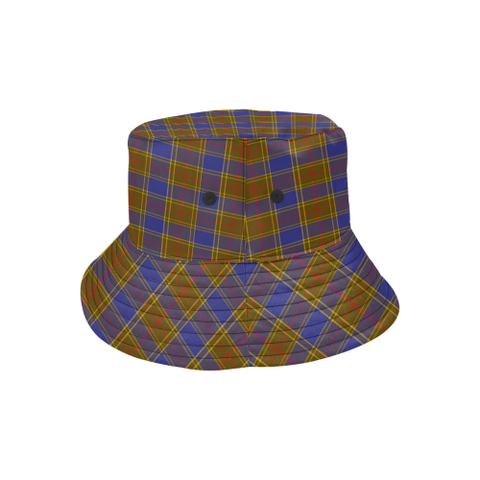 Balfour Modern Tartan Bucket Hat for Women and Men K7