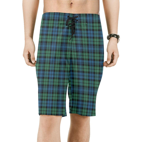 Campbell Ancient 02 Tartan Board Shorts | scottishclans.co