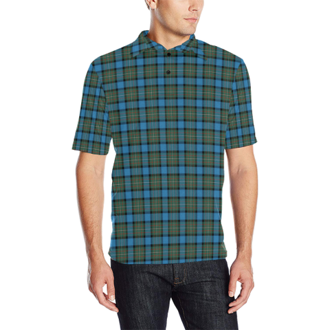 Image of Fergusson Ancient  Tartan Polo Shirt