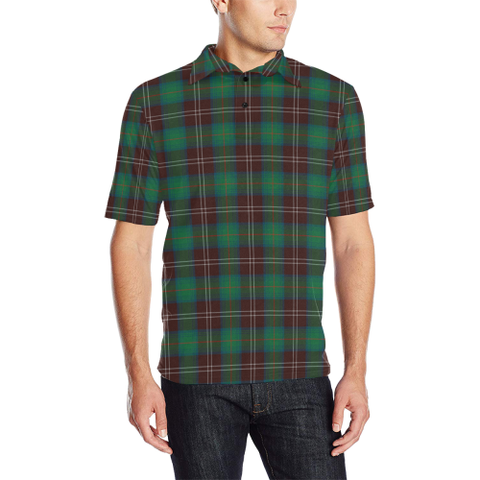 Chisholm Hunting Ancient  Tartan Polo Shirt