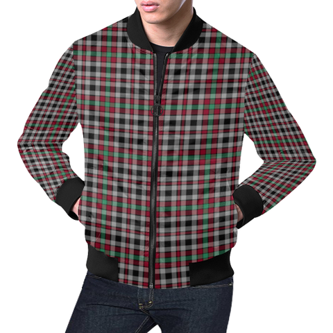 Borthwick Ancient Tartan Bomber Jacket | Scottish Jacket | Scotland Clothing
