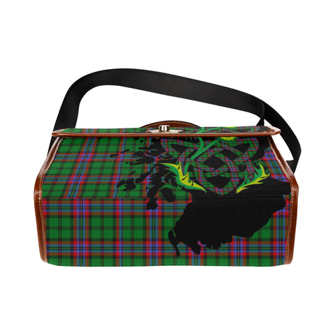 McGeachie Tartan Map & Thistle Waterproof Canvas Handbag| Hot Sale