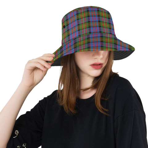Image of Carnegie Ancient Tartan Bucket Hat for Women and Men | Scottishclans.co