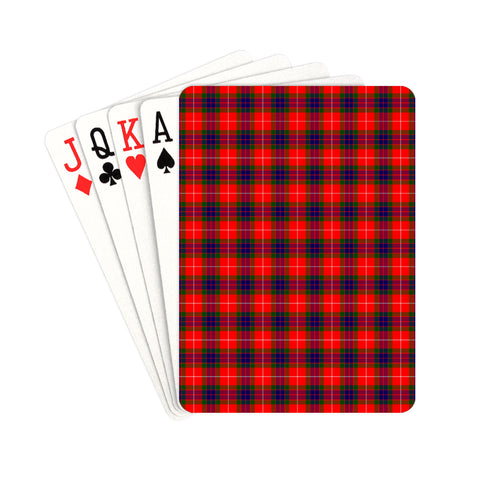 Abernethy Tartan Playing Cards | scottishclans.co