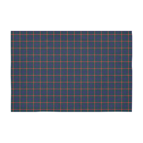 Image of Agnew Modern Tartan Tablecloth | Home Decor