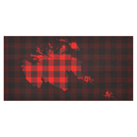 Wemyss Modern Tartan Map Tablecloth TH8