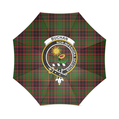 Buchan Modern Crest Tartan Umbrella TH8