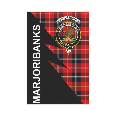 "Marjoribanks Tartan Garden Flag - Flash Style 12"" x 18"""