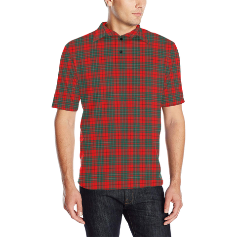 Image of Cumming Modern  Tartan Polo Shirt