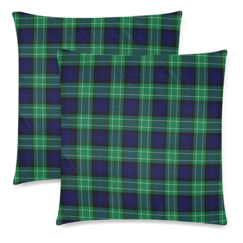Image of Abercrombie decorative pillow covers, Abercrombie tartan cushion covers, Abercrombie plaid pillow covers