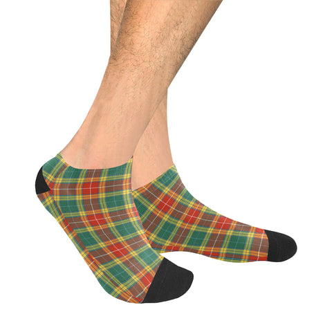 Image of Buchanan Old Sett Tartan Ankle Socks | scottishclans.co