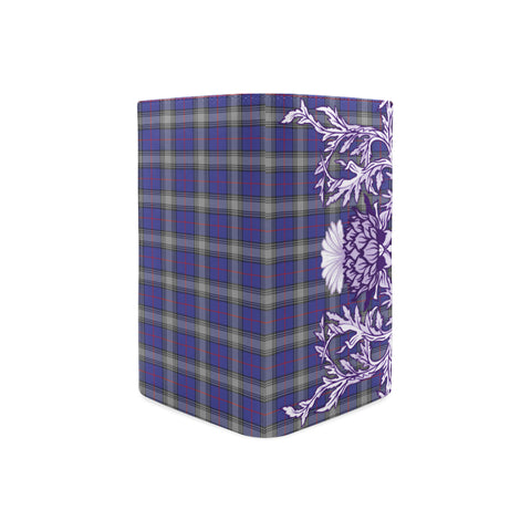Kinnaird Tartan Wallet Women's Leather Thistle A91