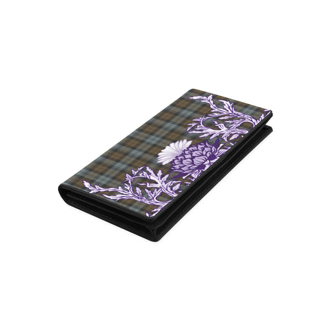 BlackWatch Weathered Tartan Wallet Women's Leather Wallet A91 | Over 500 Tartan