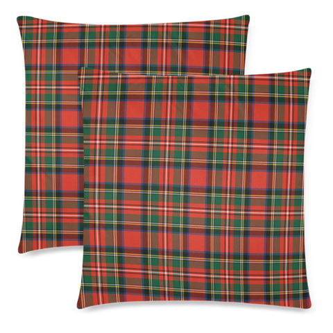 Stewart Royal Modern decorative pillow covers, Stewart Royal Modern tartan cushion covers, Stewart Royal Modern plaid pillow covers