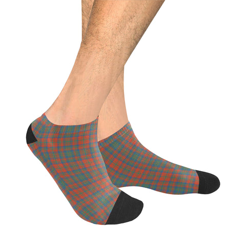Matheson Ancient Tartan Ankle Socks K7