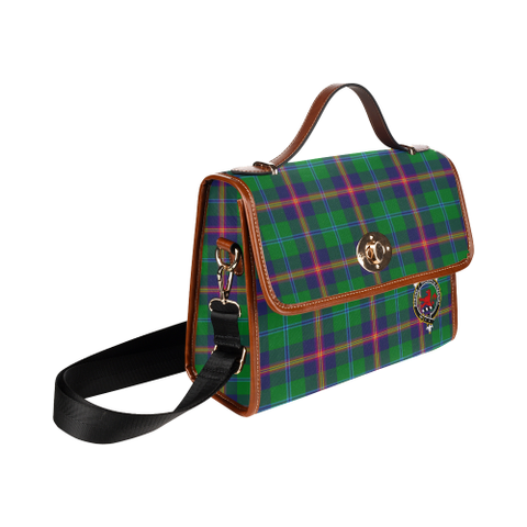 Image of Young Clan Tartan Canvas Bag | Special Custom Design