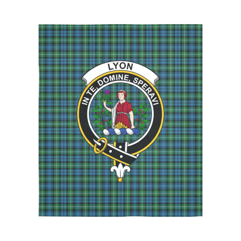 Lyon Clan Tartan Tapestry Clan Badge | Scottish Clans