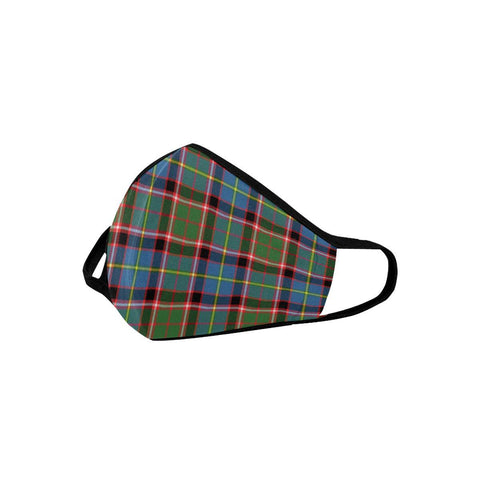 Stirling & Bannockburn District Tartan Mouth Mask With Filter | scottishclans.co