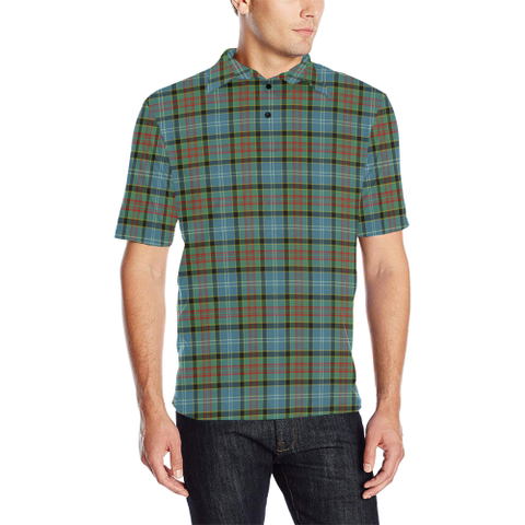 Paisley District Tartan Polo Shirt