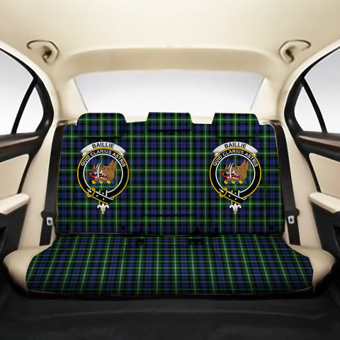 Baillie Modern Clan Crest Tartan Back Car Seat Covers A7
