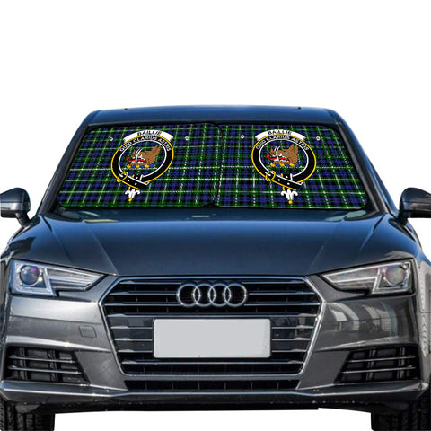Baillie Modern Clan Crest Tartan Scotland Car Sun Shade 2pcs