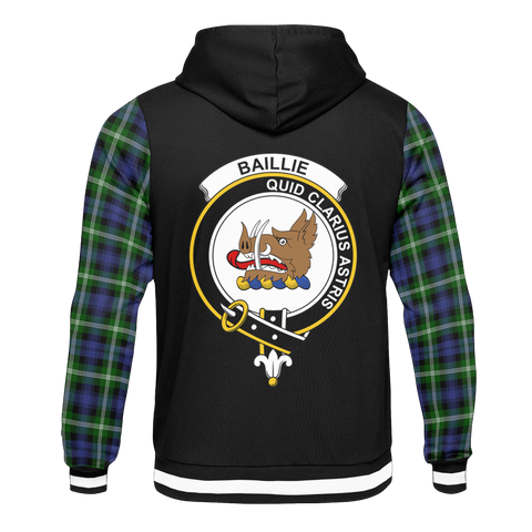 Image of Baillie - Tartan All Over Print Hoodie - BN