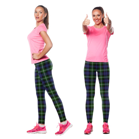 Baillie Modern Tartan Leggings| Over 500 Tartans | Special Custom Design