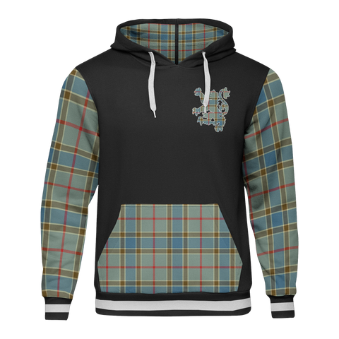 Image of Balfour - Tartan All Over Print Hoodie - BN