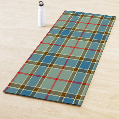 Image of Balfour Blue Clan Tartan Yoga mats