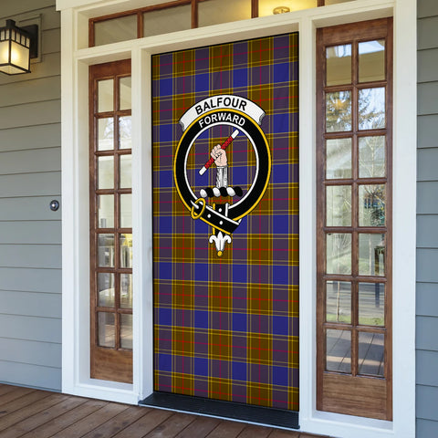 Image of Balfour Modern Tartan Door Sock Cover