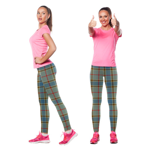 Image of Balfour Blue Tartan Leggings| Over 500 Tartans | Special Custom Design