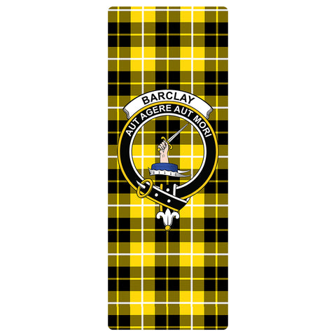 Barclay Dress Modern Clan Crest Tartan Yoga mats