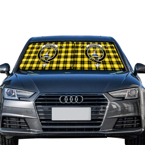 Barclay Dress Modern Clan Crest Tartan Scotland Car Sun Shade 2pcs