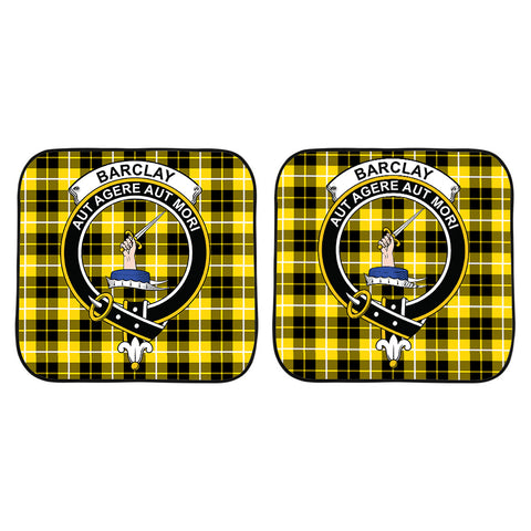Barclay Dress Modern Clan Crest Tartan Scotland Car Sun Shade 2pcs K7