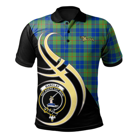 Barclay Hunting Ancient Clan Believe In Me Polo Shirt