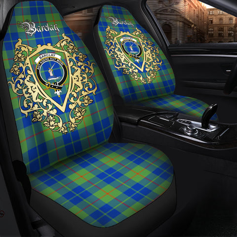 Barclay Hunting Ancient Clan Car Seat Cover Royal Sheild