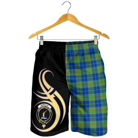 Barclay Hunting Ancient Clan Believe In Me Men Short